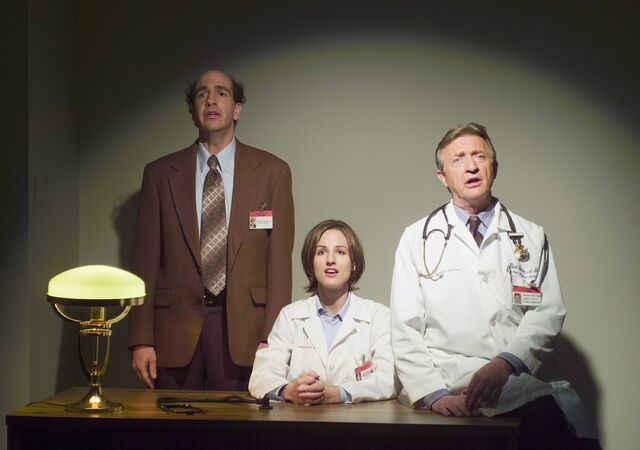File:2x13 Ted, Dr Mitchell and Dr Kelso sing.jpg