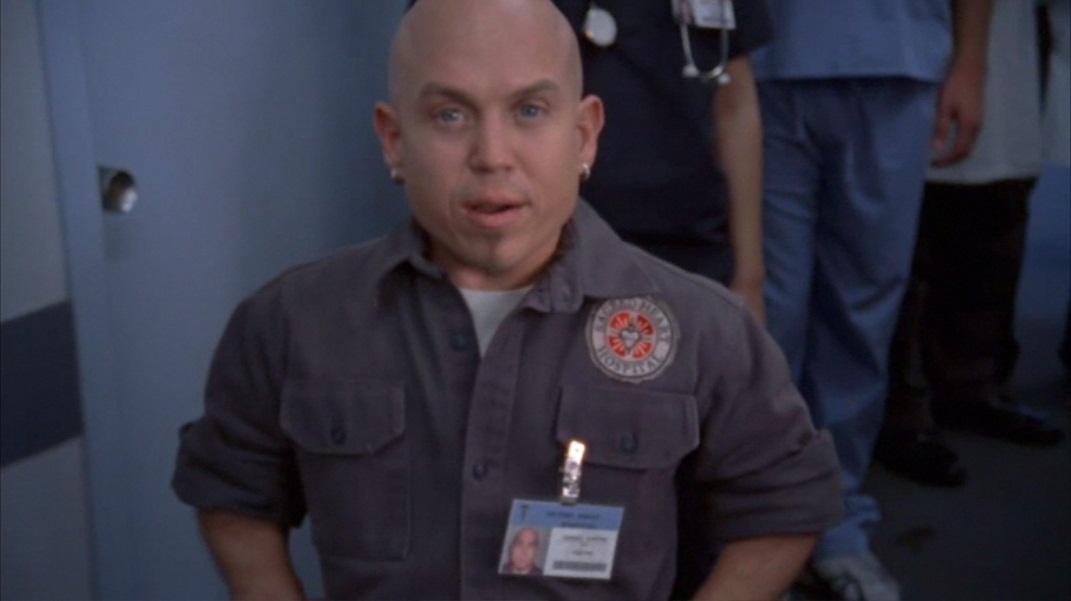 janitor Scrubs midget