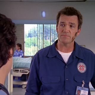 Janitor starts growing his relatively patchy muttonchops...