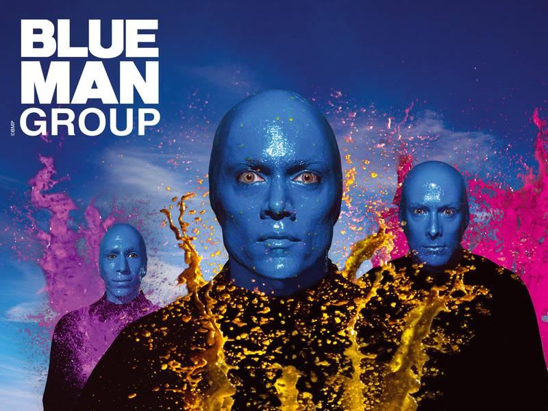 Blue Man Group Poncho Plätze