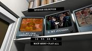 Season 3 DVD episode menu