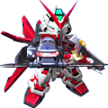 Unit br astray red frame flight unit