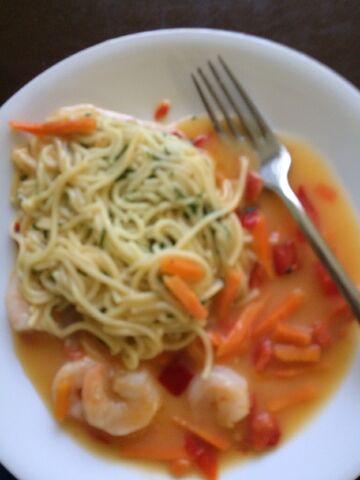 File:Lean cusine shrimp and angel hair pasta.jpeg