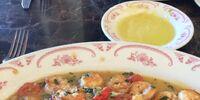 Maggianio shrimp scampi