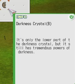 Darkness Crystal(B)