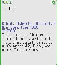 1st test