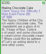 Making Chocolate Cake