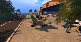 Kinrara Airfield, looking north (09-11)