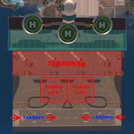 Miami International Airport Detailed Map