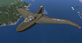 Northrop XP-56 (Velocity) 1