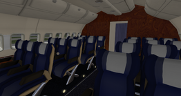 DC-10-30 - business class (EG Aircraft)