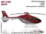 Eurocopter EC135 Red (Apolon)