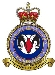 RAF Tsurington Station Badge