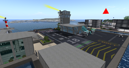 Twin Towers Airport, looking SW (04-14)