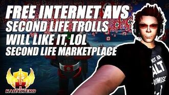 "Second Life Trolls Will Like This ""Free Internet Avs"" ★ Second Life Marketplace"