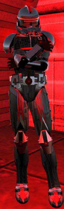 Dark Trooper Armor Set (Lights)