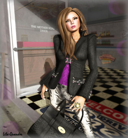 File:Mimikri - Blazer Allegra black & Leather Leggins Allegra Tiger Silver.jpg