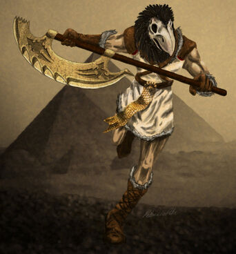 Egyptian warrior by rebeccapike-d555trl