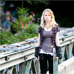 Britt Robertson in Triple Dog