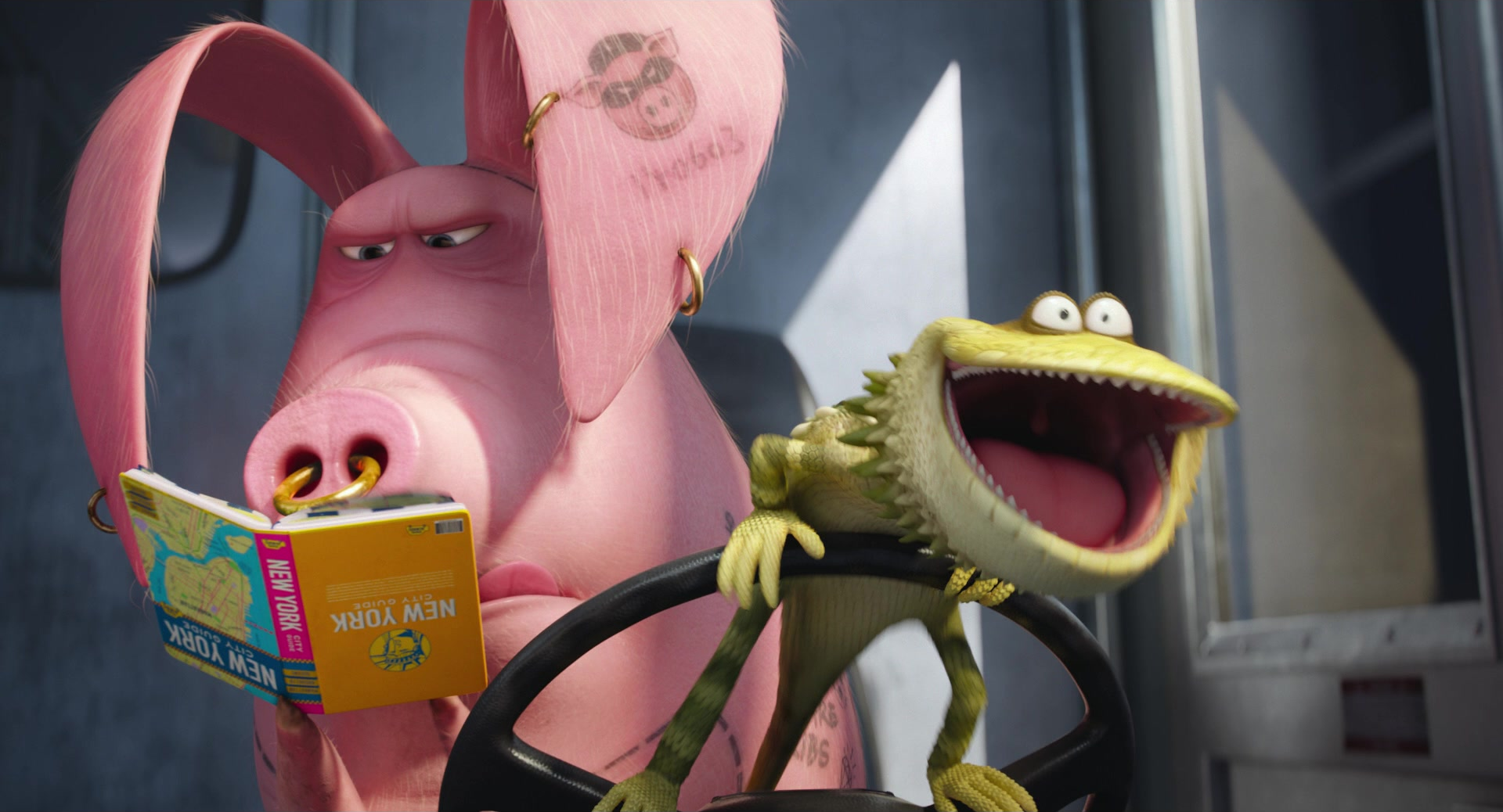 Image dragon the secret life of pets wiki for Tattoo secret life of pets
