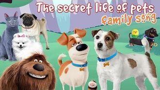 The Secret life of pets Finger Family Max, Gidget, Mel Nursery Rhymes for children