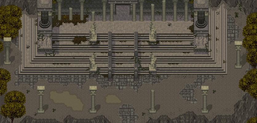 Hall of Colossia Map 1