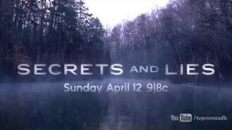 Secrets and Lies 1x07 Promo 'The Cop' HD