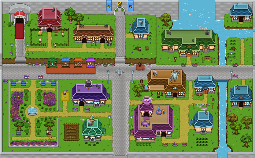 Evergrind City Map-50