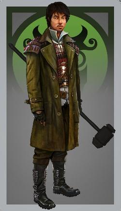 Male warlord
