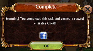 Ship Quests and Artifact complete notice