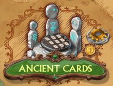 Ancient Cards Puzzle Icon