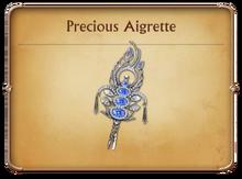 Precious Aigrette