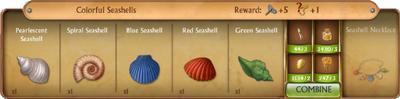 C0288 Colorful Seashells cropped