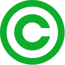File:Green copyright.128px.png