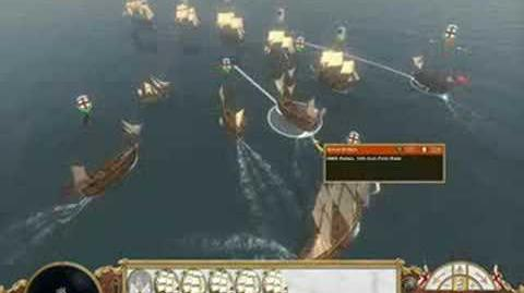 Empire Total War - Naval Gameplay Trailer