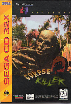 250px-Corpse Killer for Sega 32X, Front Cover