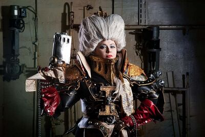 Warhammer 40 000 cosplay for the emperor by alberti-d5kz0r7