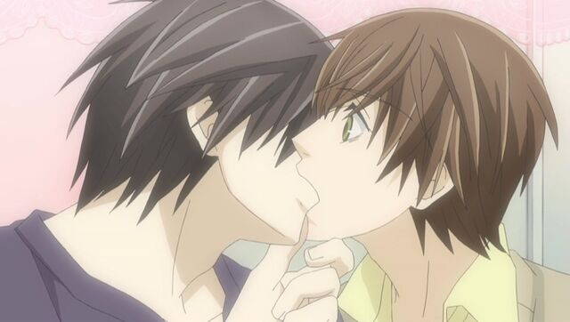 File:Takano kisses Ritsu while working ep07.jpg