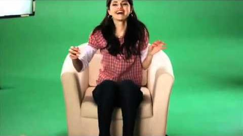 Selena Gomez - Borden Milk Commercial (behind the scenes)