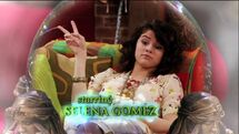 Selena in the WOWP theme song