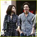 Cameron Quiseng and Selena Gomez