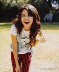 Selena laugh