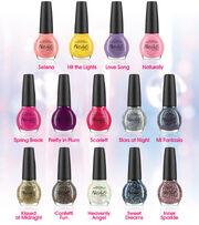 Selena's nail polish