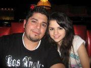 Selena gomez and father