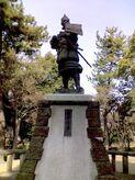 Nobunaga Oda statue
