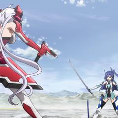 Tsubasa against Chris