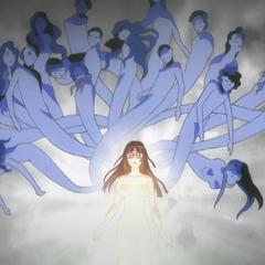 Finé awakens within Ryoko.