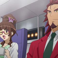 Ryōko and Genjuro