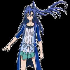 Tsubasa's outfit in AXZ.