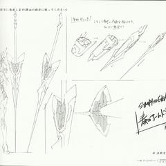 Kanade's Gungnir Armed Gear Sheet